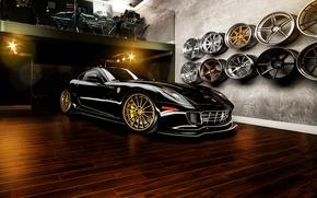 Picture supercar, Ferrari, drives, ferrari 599 GTB