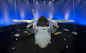 Wallpaper F-35, Lightning II, fighter, bomber