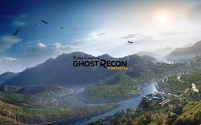 Wallpaper Tom Clancy's Ghost Recon Wildlands, Ubisoft, Mountains