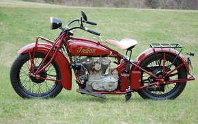 Picture Indian, power, 1920., motorcycle, 1919-1949gg., long, motorcycle, produced, Nizhnekamsky, 11 HP, created, engine, model, moto, ...