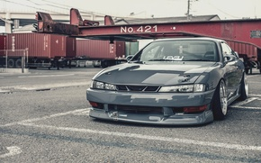 Picture Silvia, Nissan, grey, S14