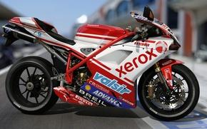 Picture art, Italy, motorcycle, dangeruss, Ducati 1198