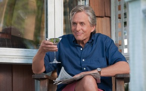 Picture the film, And So It Goes, Michael Douglas, And here she is