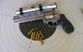Picture cartridges, revolver, target, optical sight, revolver, Taurus, 357 Magnum