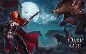Picture vampire, Dark Age, bat werewolves