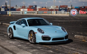 Picture Porsche, Turbo, 991, HRE, P106