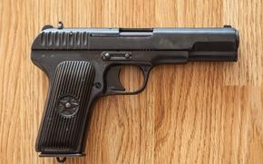 Picture gun, weapons, self-loading, Tokarev