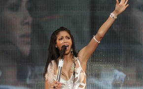 Wallpaper Nicole, Concert, Scherzinger