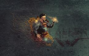 Picture texture, hero, Superman, Superman
