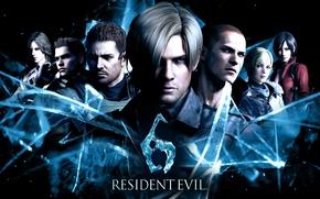 Picture Resident Evil, Resident Evil 6, Leon Scott Kennedy, Helena Harper, Chris Redfield, Sherry Birkin, Ada …