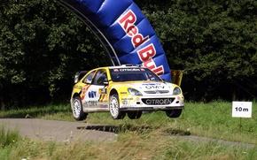 Picture Jump, Citroen, Citroen, WRC, Rally, Rally, Xsara, Duval