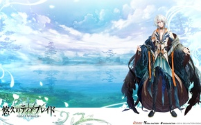 Picture background, art, guy, Rou, Yuukyuu.no.Tierblade