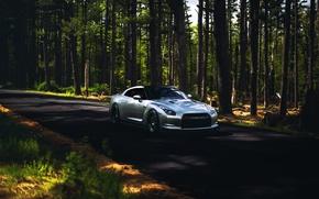 Picture GTR, Nissan, wheels, sports car, Nissan, stance, frontside