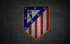 Picture wallpaper, logo, football, Spain, Atletico Madrid