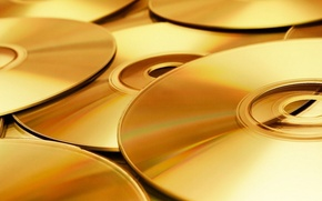 Picture music, Wallpaper, drives, gold