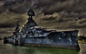 Picture ship, Navy, American, military, battleship, Texas, USS, battleship, WW2, WW1