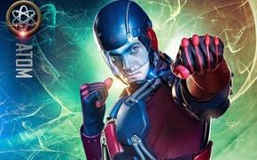 Picture high-tech, man, series, hero, Atom, Arrow, DC Comics, pearls, powerful, uniform, yuusha, super hero, technology, …