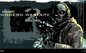 Picture Call of Duty, Modern Warfare 2, XBOXART, Mitchy Bwoy