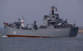 Picture ship, large, Navy, landing, Nikolai Filchenkov
