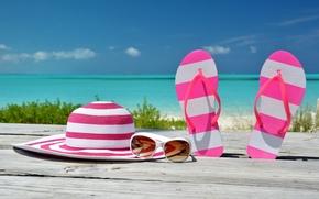 Picture sea, beach, summer, the sun, stay, summer, beach, vacation, sea, sun, vacation, accessories