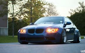 Picture BMW, E92, wide body