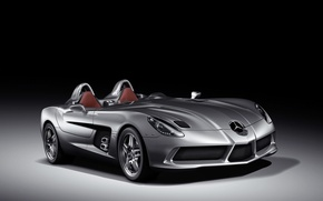 Wallpaper Mercedes-Benz, SLR Stirling Moss, Roadster