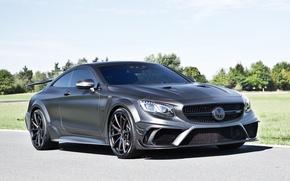 Picture black, Mercedes-Benz, Mercedes, AMG, Black, Mansory, AMG, S-Class, 2015, C217