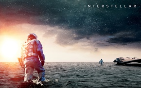 Picture the sky, water, the ocean, ship, interstellar, interstellar