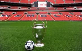 Picture The ball, Football, Adidas, Adidas, Ball, Football, Stadium, Stadium, Champions League, Champions League, Wembley, Wembley