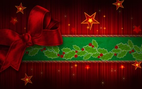 Picture holiday, Happy New Year, tape, Christmas, beautiful, stars, cool, red, sweetheart, lovely, colorful, nice, merry …