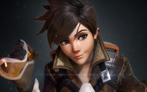 Picture Game, Blizzard Entertainment, Overwatch, Tracer