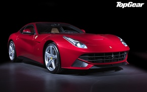 Picture red, Berlinetta, F12, Berlinetta, F12, Top Gear, supercar, Ferrari, the best TV show, top gear, ...
