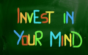 Picture letters, words, the phrase, motivation, mind, investment