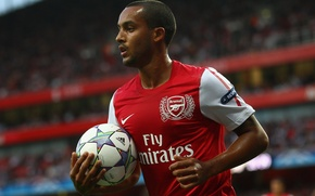 Picture football, Champions League, arsenal london, Theo volkot, Theo Walcott