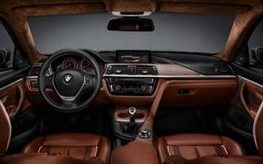 Picture BMW, sedan, gray, 4series
