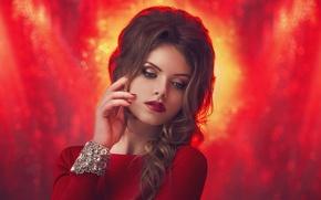 Picture girl, portrait, makeup, beautiful, photographer, manicure, Julia Sariy