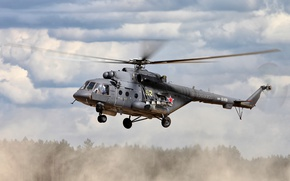 Picture helicopter, The Russian air force, Mi-8AMTSH