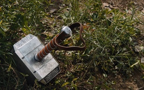Picture weapons, earth, hammer, Marvel, The Avengers, The Avengers, Marvel, Mjollnir, Mjolnir