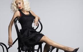 Picture blonde, singer, Christina Aguilera, celebrity, Christina Aguilera