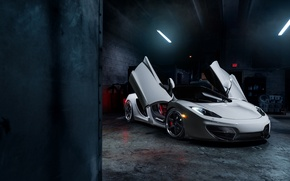 Picture McLaren, Front, MP4-12C, Tuning, Supercars, Wheels, ADV.1, Doors, ADV6 TS