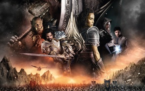 Picture Girl, Fantasy, Warcraft, Orc, Legendary Pictures, Men, War, Army, Paula Patton, EXCLUSIVE, Lady, Sword, Human, …