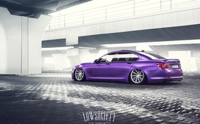Picture BMW, suspension, low, 7 Series