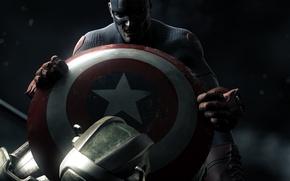 Picture marvel, comics, captain america, captain America