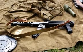 Picture system, the gun, 62 mm, PPS-42/43, Bolt carrier tilt
