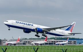 Picture Boeing, 300, Airlines, 777, Transaero, Transaero, EI-UNN
