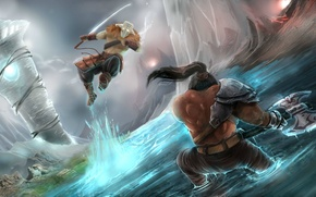 Picture Defense of the Ancients, Juggernaut, dota 2, Axe