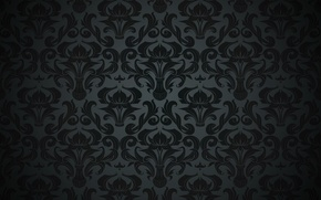Picture pattern, retro, vintage, vector, background, black, texture, dark, ornament, pattern, gradient, vintage