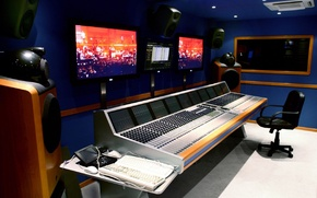 Picture sound, entry, Studio