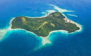 Picture pacific ocean, fiji, lawedua, wakaya island