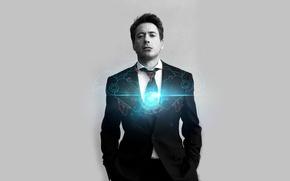 Picture look, pose, costume, Iron Man, Robert Downey Jr., Robert Downey Jr.